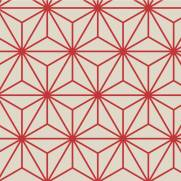 imagem do Papel de Parede Geométrico/Rolo