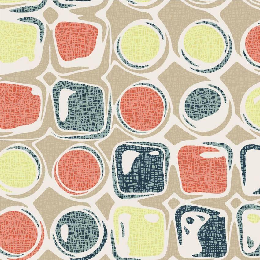 Papel de Parede Bolas Coloridas imagem 1