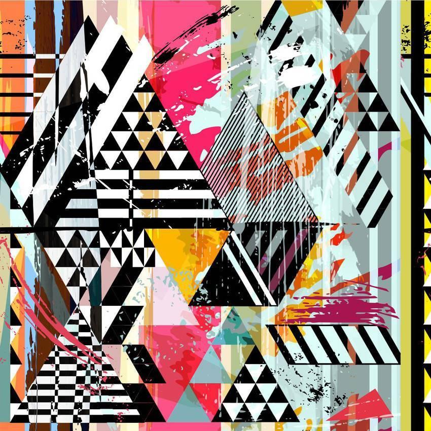 Papel de Parede Colorido | Adesivo Vinilico imagem 1