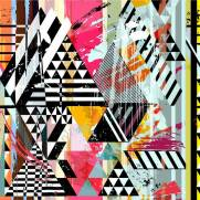 imagem do Papel de Parede Colorido | Adesivo Vinilico