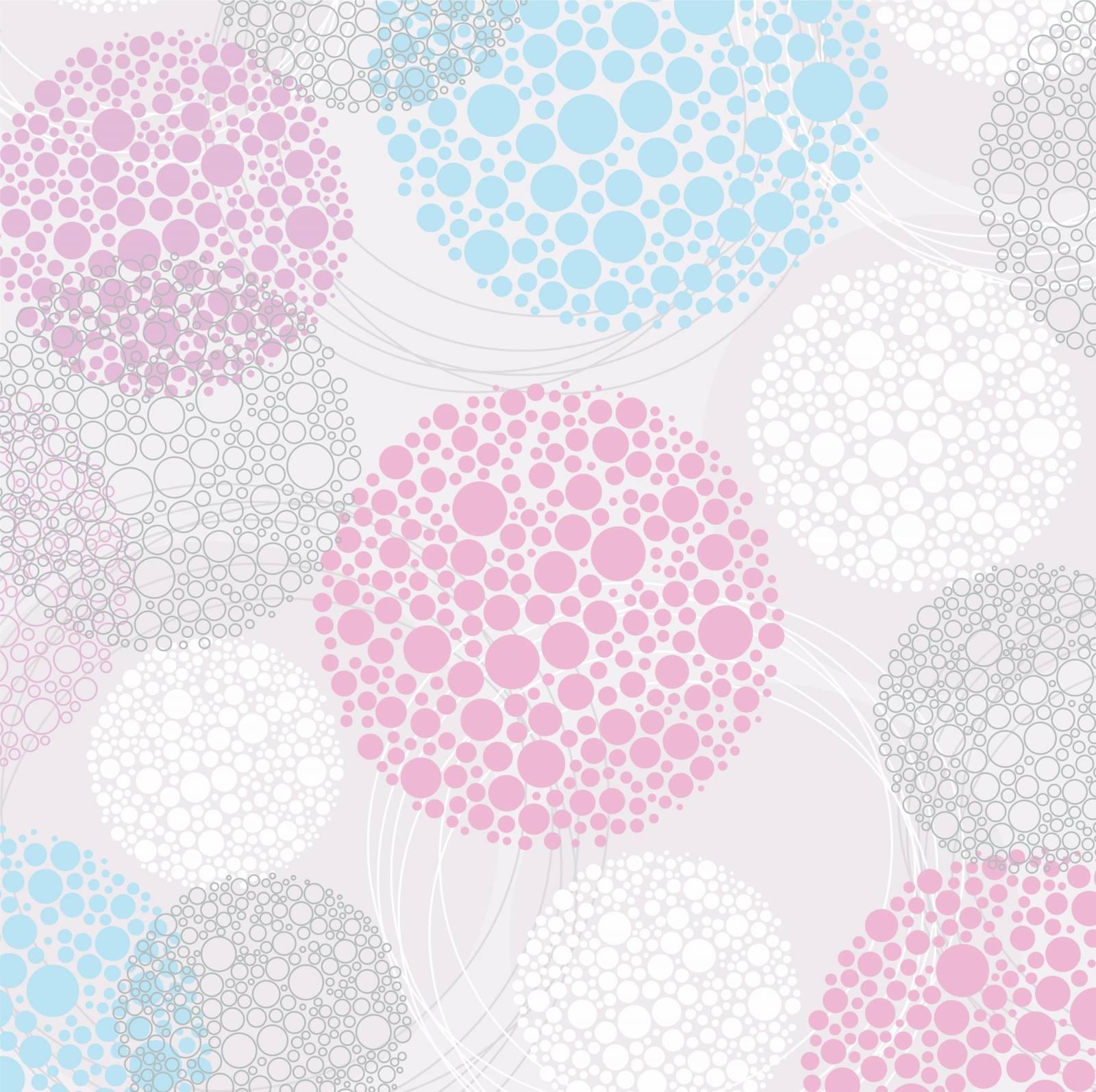 Papel de Parede Poá Pastel/Rolo  imagem 1