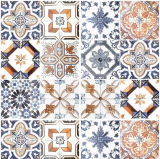 Adesivo para Azulejo - Retro Mescla Clara