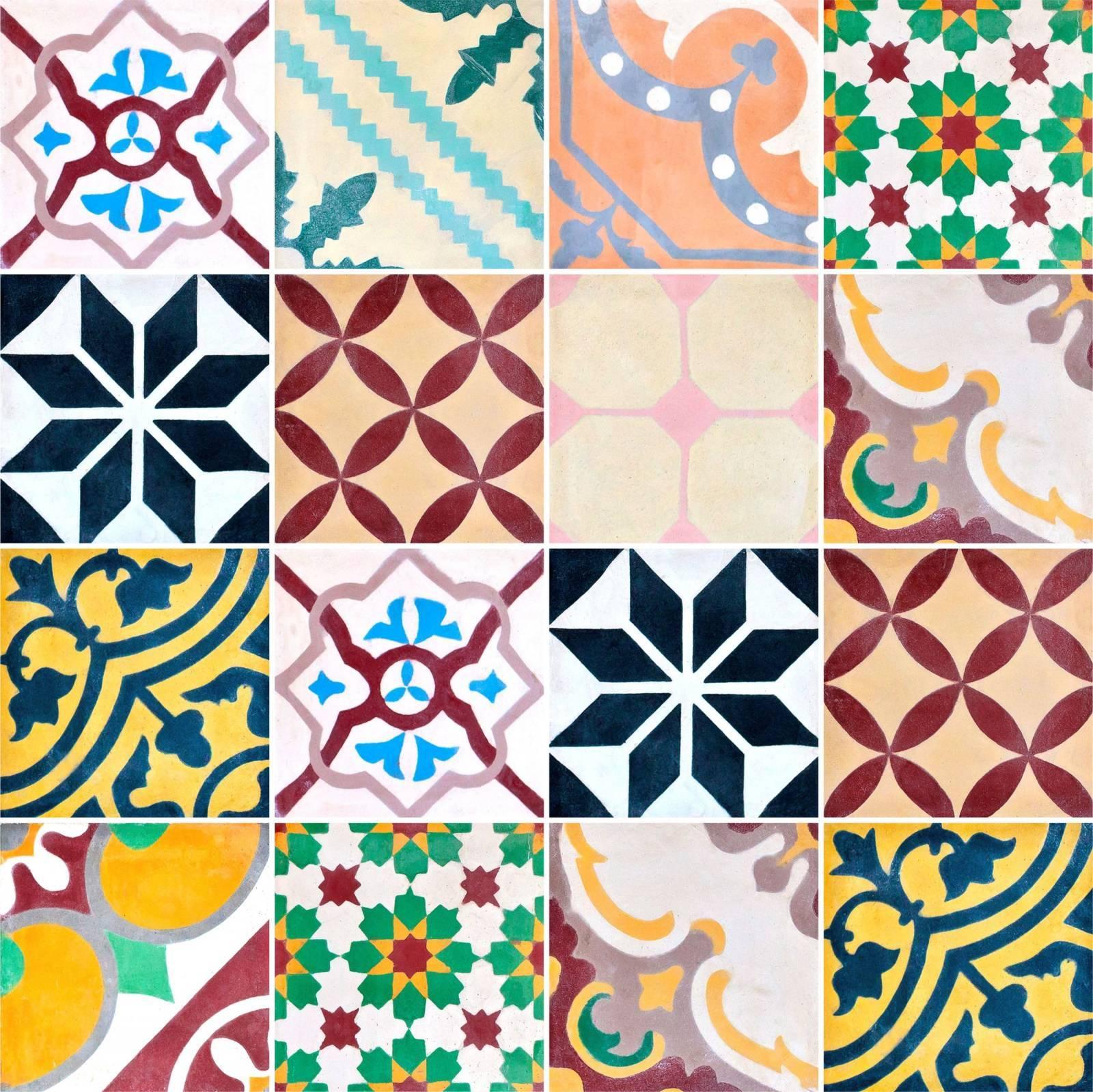 Adesivo para Azulejo - Retrô Colors  imagem 1