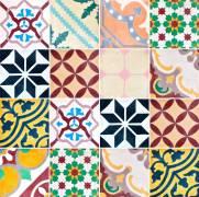 imagem do Adesivo para Azulejo - Retrô Colors