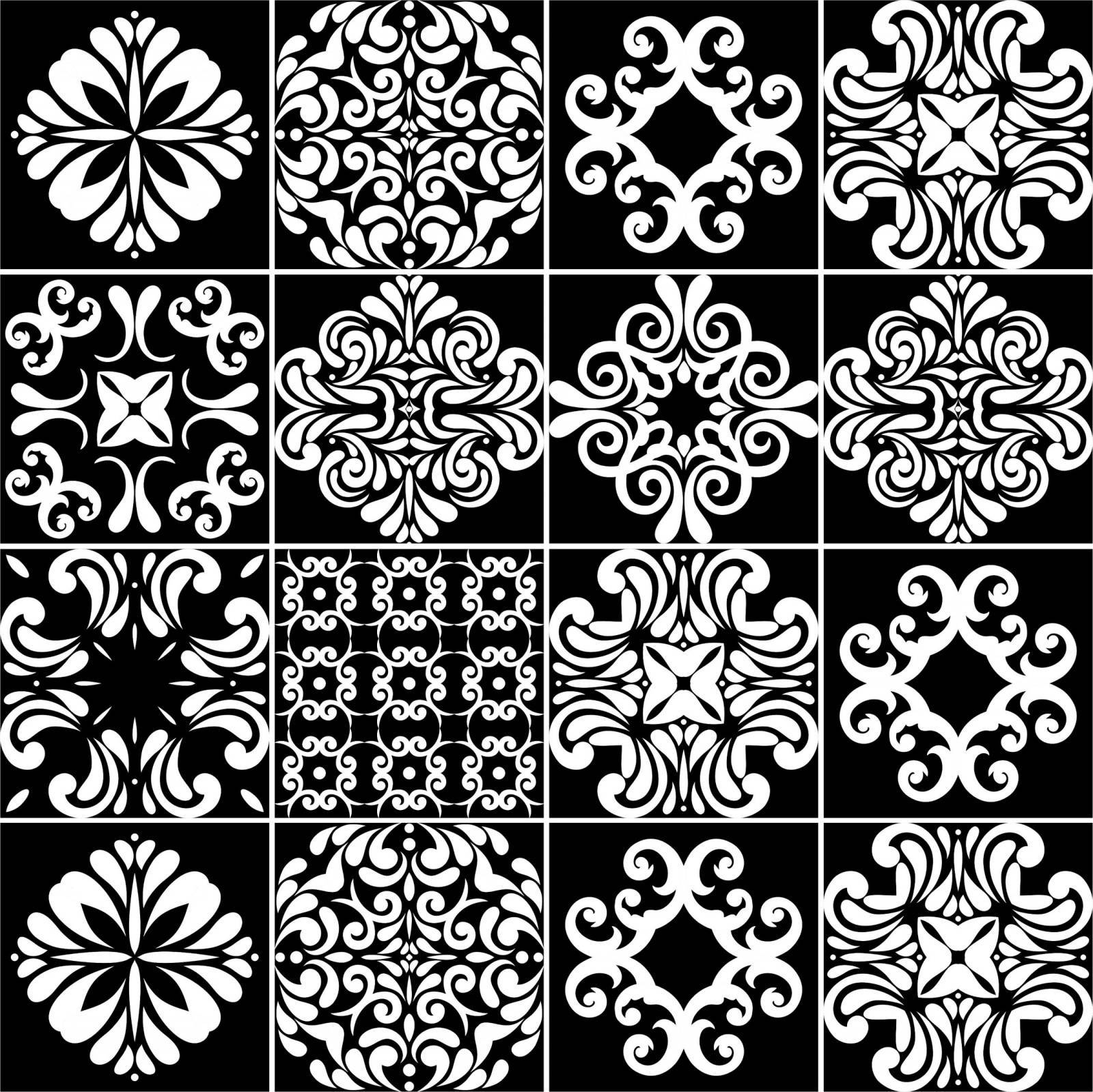 Adesivo para Azulejo - P&B1 imagem 1