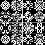 imagem do Adesivo para Azulejo - P&B1