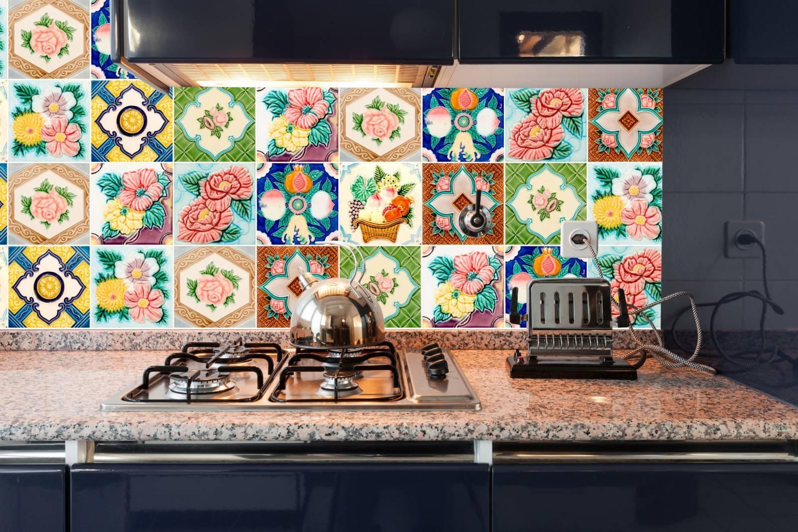 Adesivo para Azulejo - Flores imagem 2