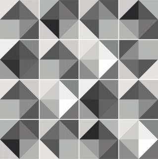 Adesivo para Azulejo - Cinza