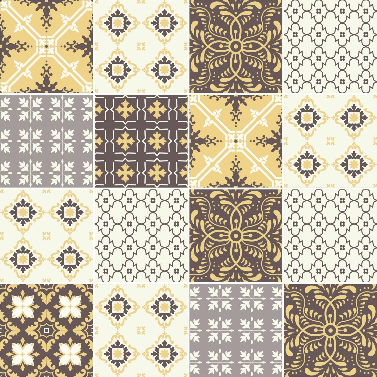 Adesivo para Azulejo Amarelo Cinza Redecorei #A88523 1600x1600 Banheiro Amarelo E Cinza