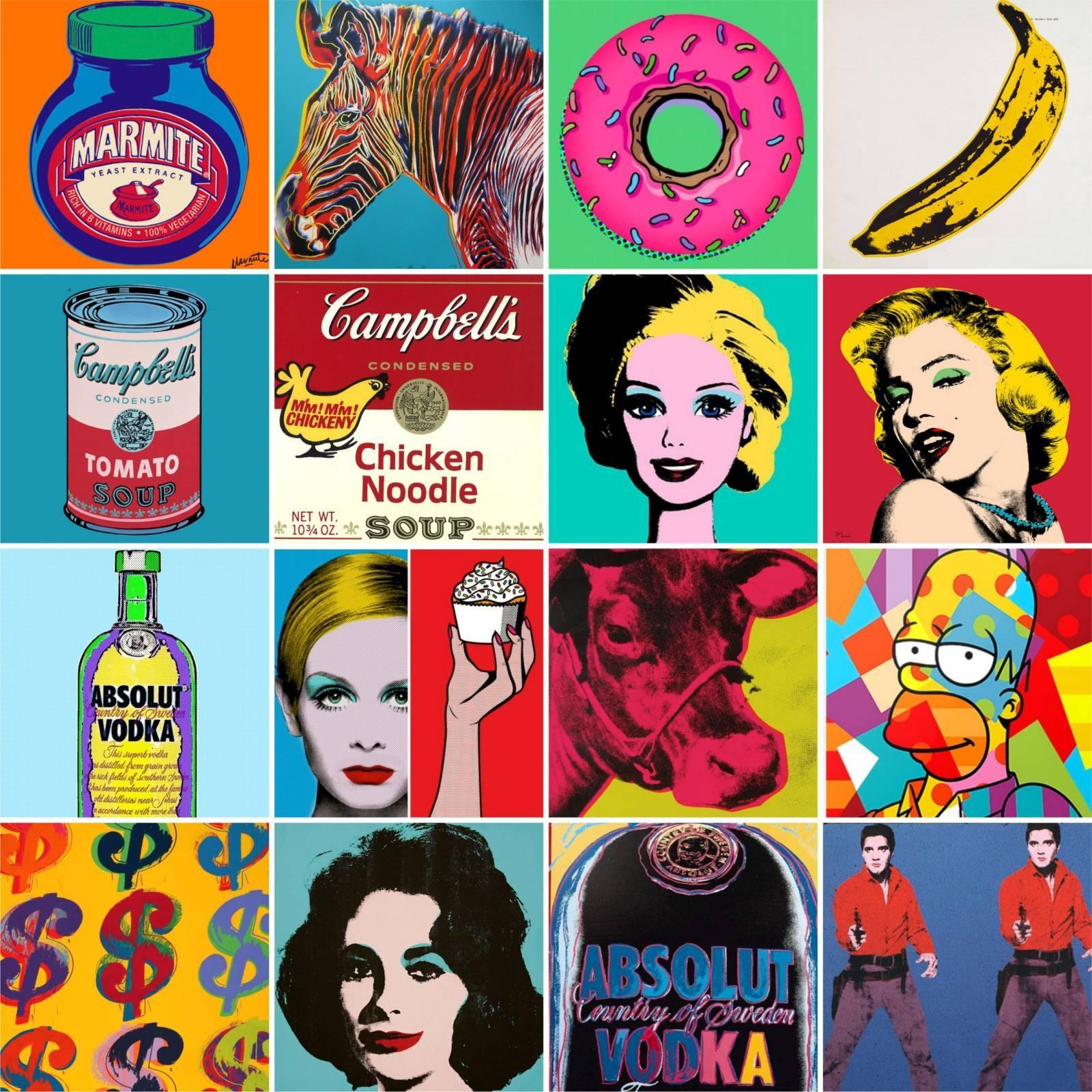 Adesivo para Azulejo - Pop Art