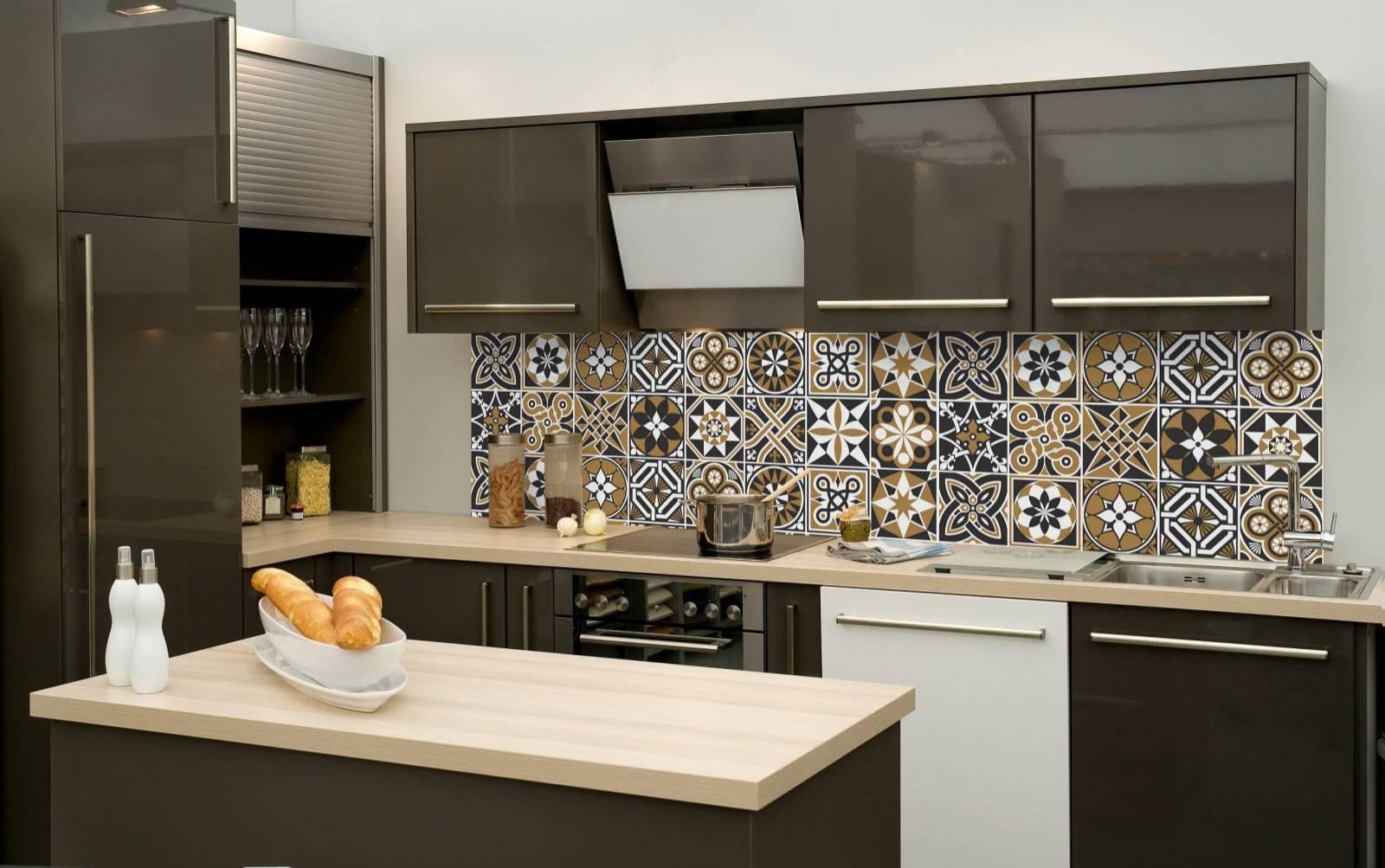Adesivo para Azulejo Preto Marrom Redecorei #9F6E2C 1600x1003 Banheiro Azulejo Decorado
