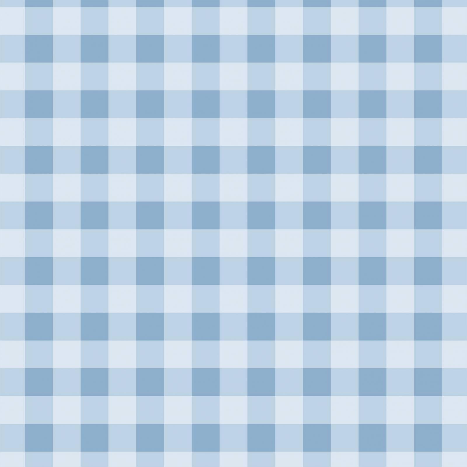 Papel de Parede Xadrez Azul Claro | Adesivo Vinilico imagem 1