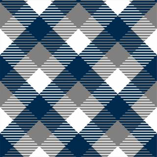 Papel de Parede Xadrez Azul | Adesivo Vinilico