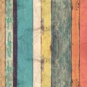 imagem do Papel de Parede Madeira Colorida | Adesivo Vinilico
