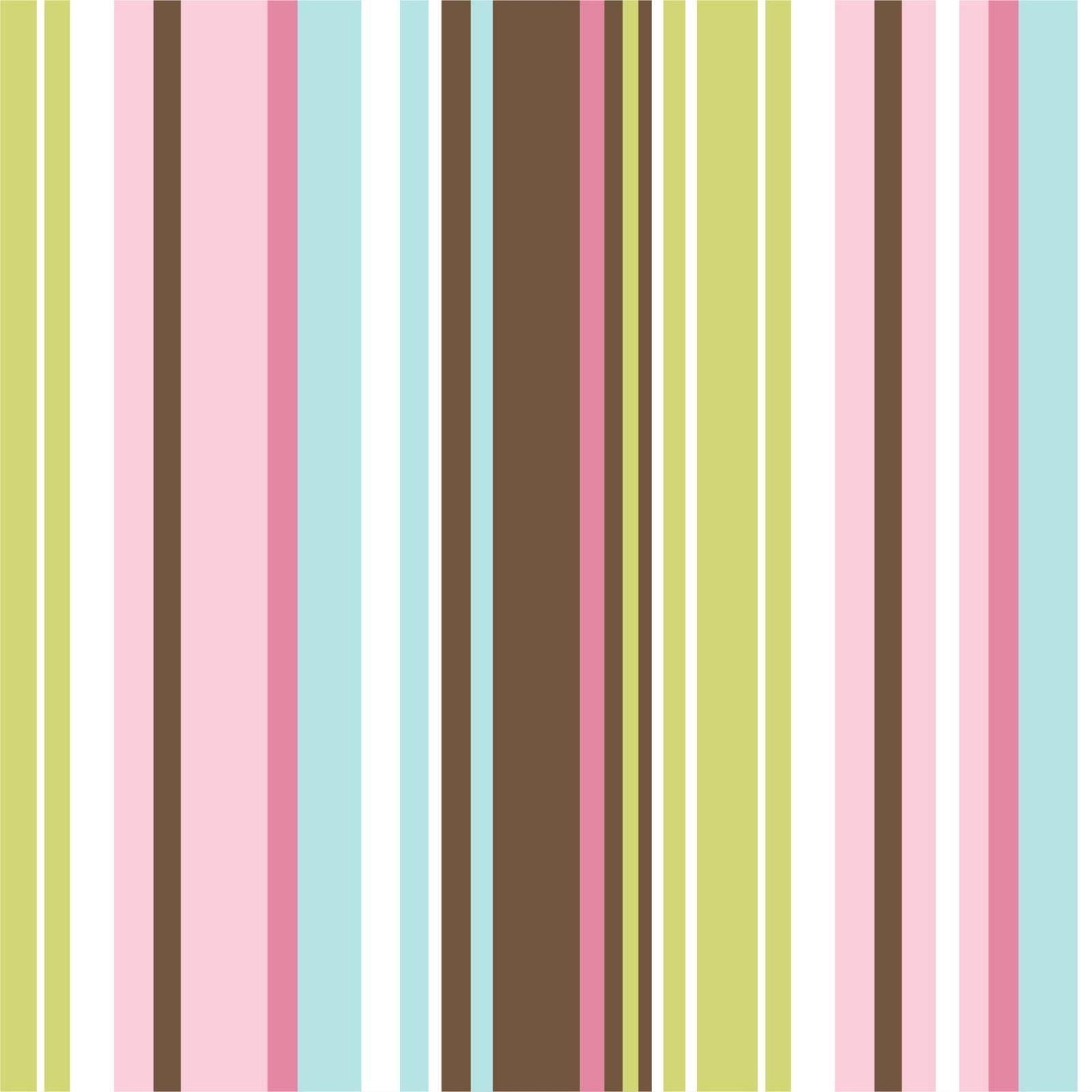 Papel de Parede Listrado Azul e Rosa | Adesivo Vililico imagem 1