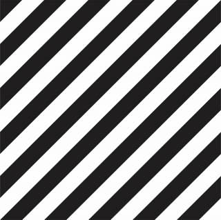 Papel de Parede Listrado Preto e Branco