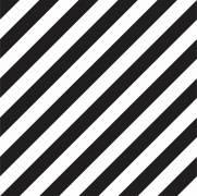 imagem do Papel de Parede Listrado Preto e Branco