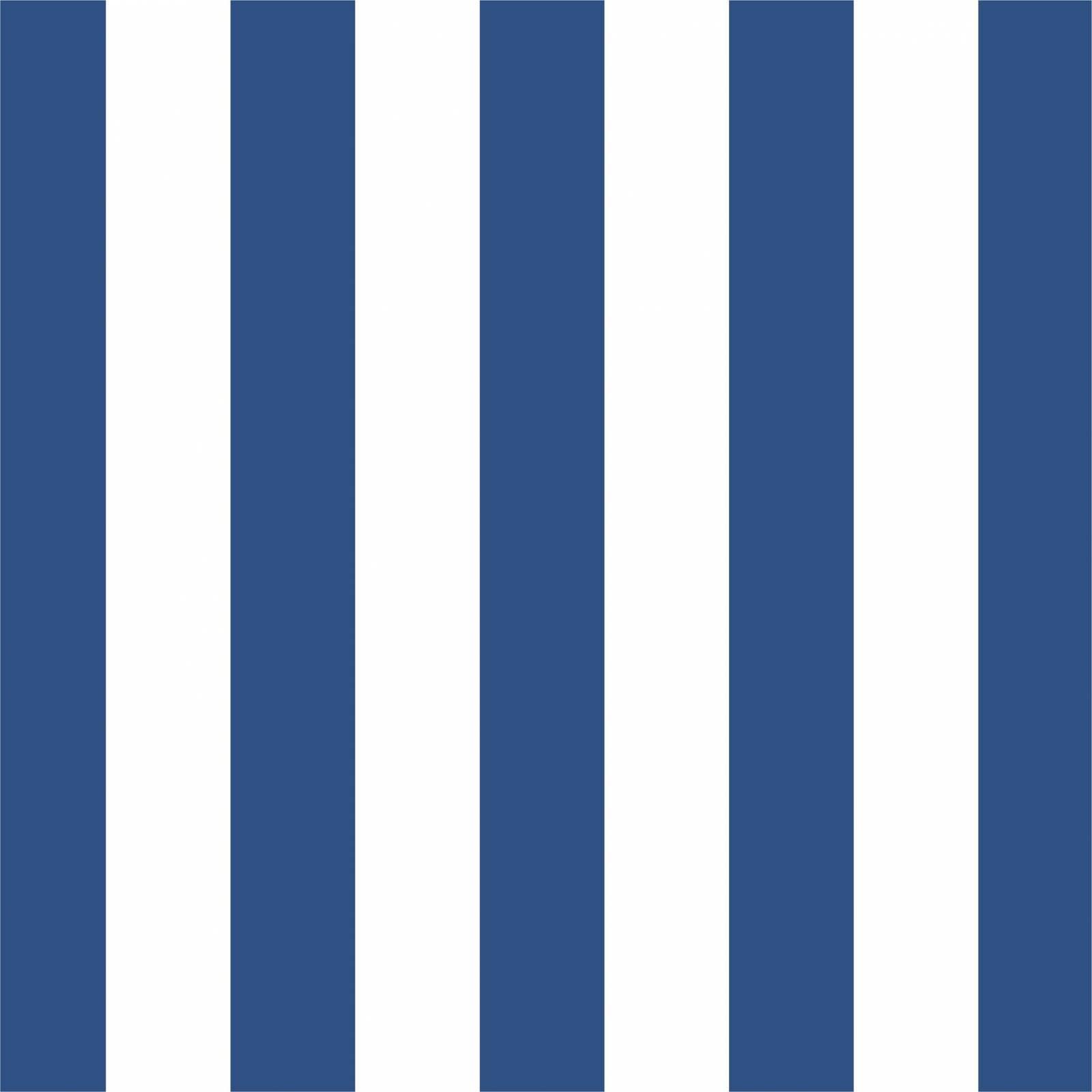 Papel de Parede Listrado Azul | Adesivo Vinilico imagem 1