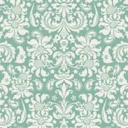 imagem do Papel de Parede Verde e Branco | Adesivo Vinilico