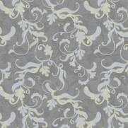 imagem do Papel de Parede Floral Cinza | Adesivo Vinílico