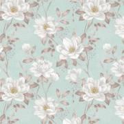 imagem do Papel de Parede Floral Flores Brancas | Adesivo Vinilico