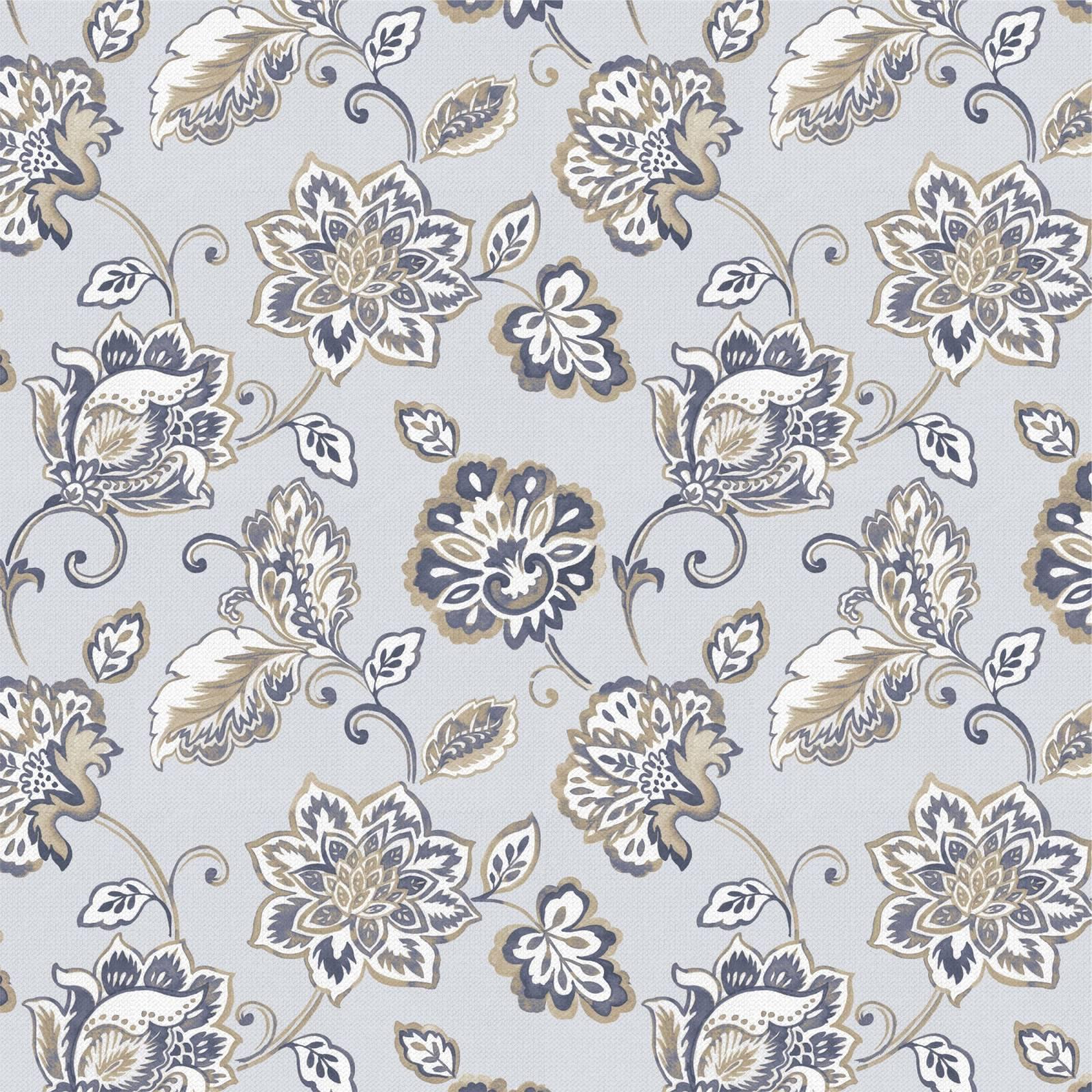 Papel de Parede Floral Indiano 2 | Adesivo Vinílico imagem 1