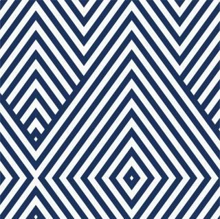 Papel de Parede Geometrico Azul Marinho