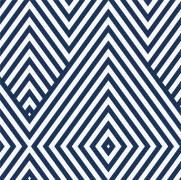imagem do Papel de Parede Geometrico Azul Marinho