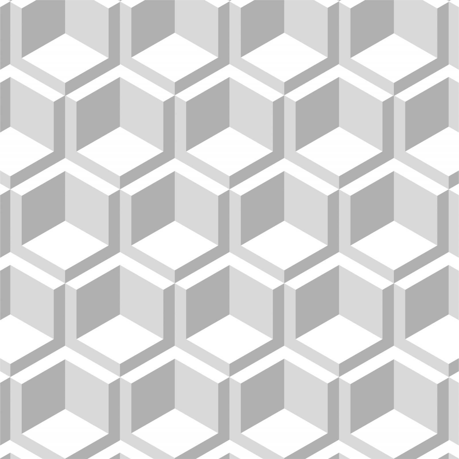 Papel de Parede Adesivo Geometrico  /Rolo imagem 1