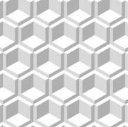 imagem do Papel de Parede Cubo 3d | Adesivo Vinilico