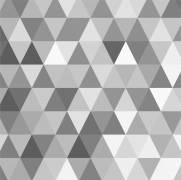 imagem do Papel de Parede Adesivo Geometrico Cinza /Rolo