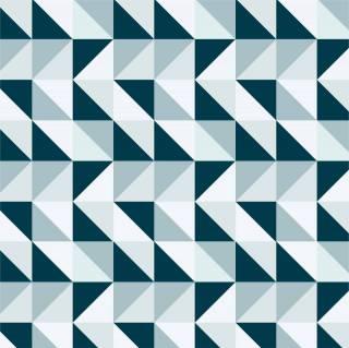 Papel de Parede Triangulo Azul | Adesivo Vinilico