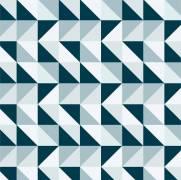 imagem do Papel de Parede Triangulo Azul | Adesivo Vinilico