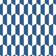 imagem do Papel de Parede Azul e Branco | Adesivo Vinilico