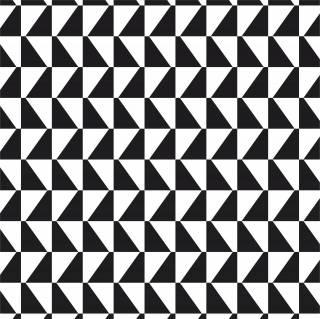 Papel de Parede Geometrico Preto e Branco | Adesivo Vinilico
