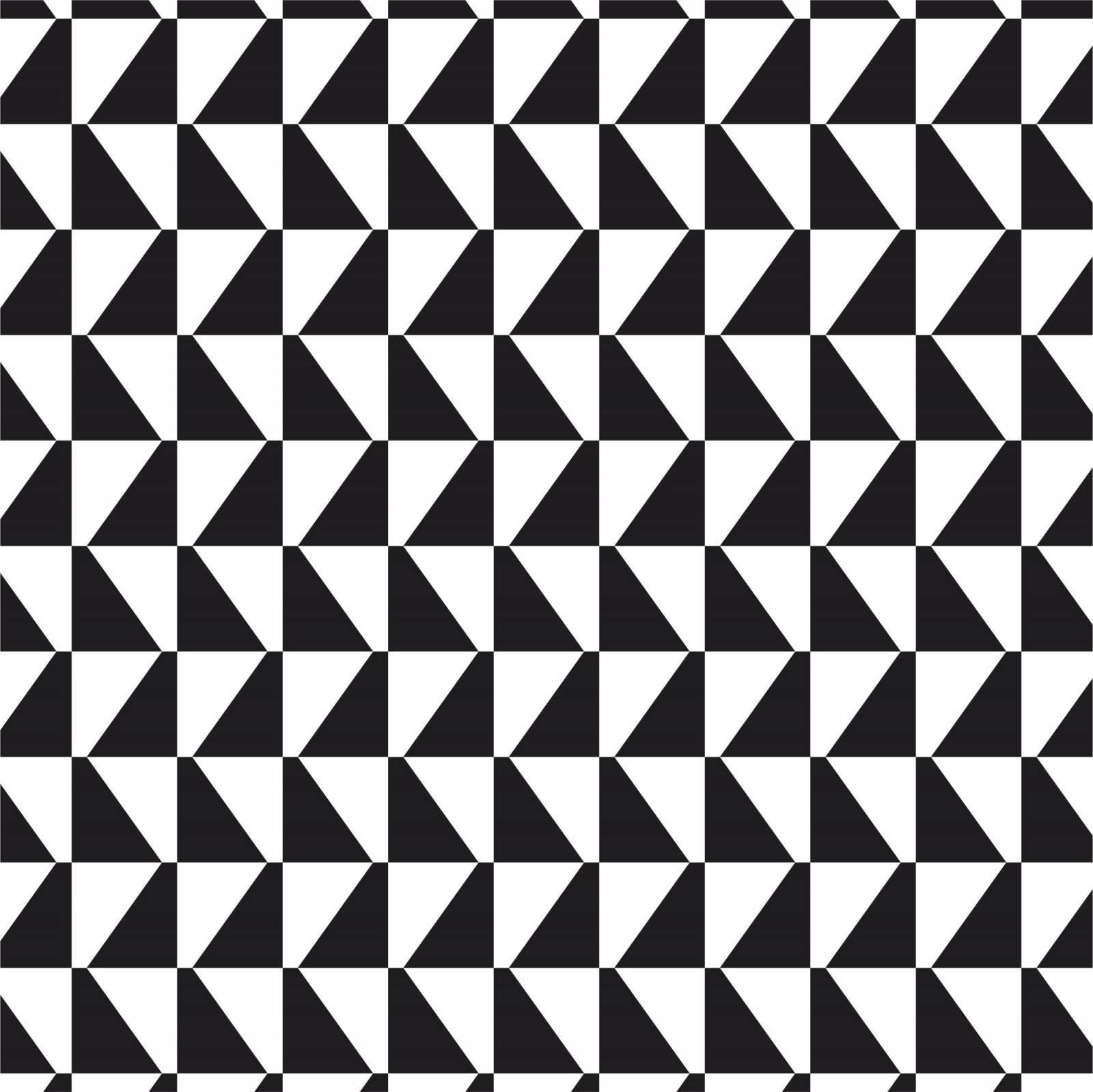 Papel de Parede Adesivo Geometrico Preto e Branco 4/Rolo