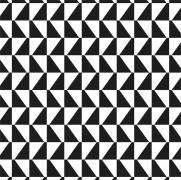 imagem do Papel de Parede Geometrico Preto e Branco | Adesivo Vinilico