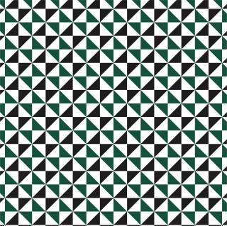 Papel de Parede Triangulo Verde | Adesivo Vinilico