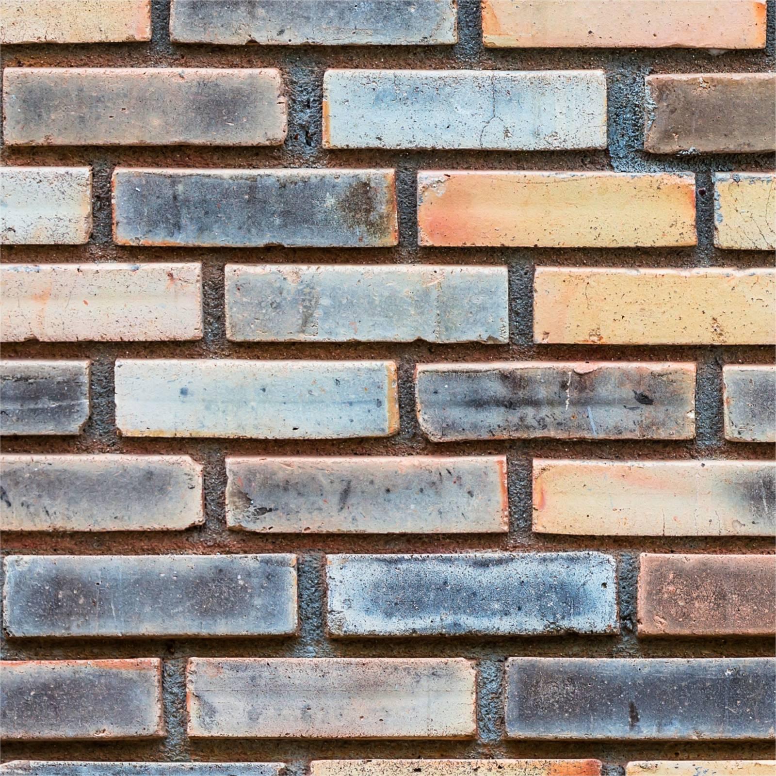 Papel de Parede Tijolo Colorido | Adesivo Vinilico imagem 2