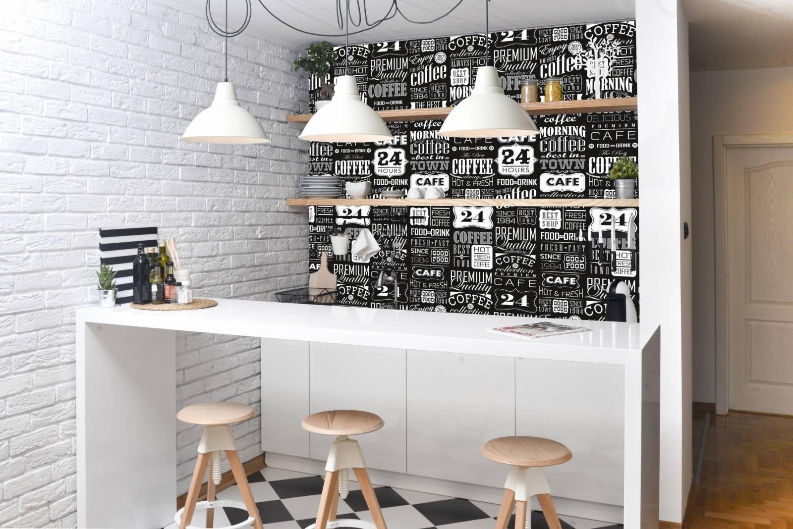 Papel de Parede Adesivo Gourmet Cozinha /Rolo imagem 2
