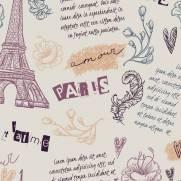 imagem do Papel de Parede Adesivo Teens Paris /Rolo