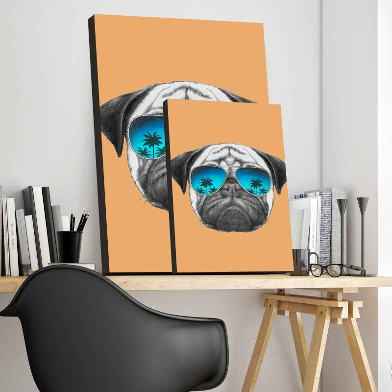 Quadro Cão de Òculos imagem 3