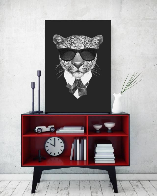 Quadro Tigre de Terno imagem 2