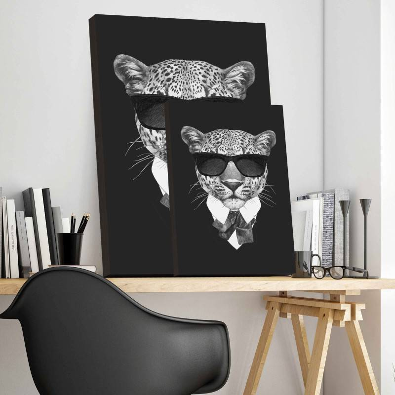 Quadro Tigre de Terno imagem 3