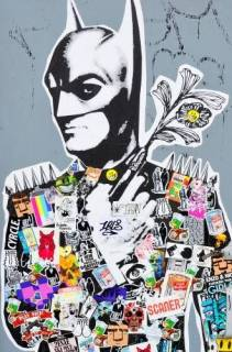 Quadro Decorativo Batman - Redecorei