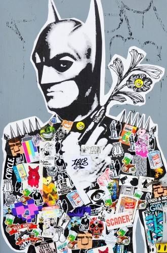 Quadro Decorativo Batman imagem 1