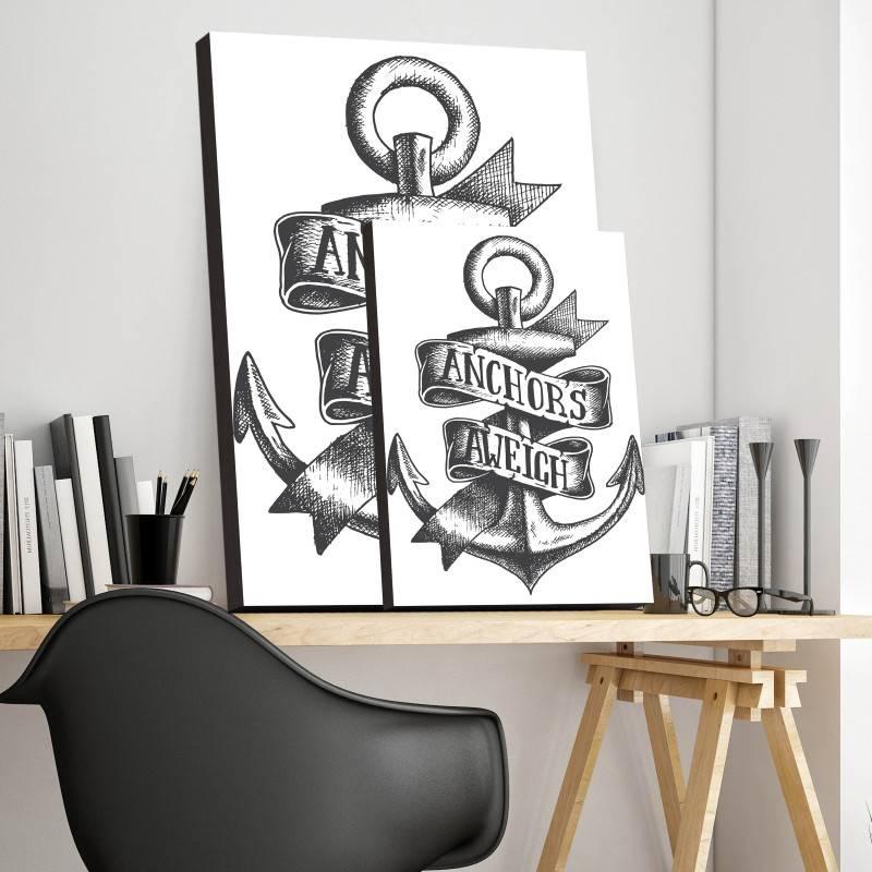 Quadro Decorativo Âncora  imagem 3