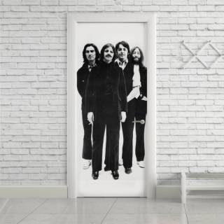 Adesivo Para Porta Beatles