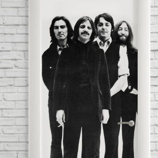 Adesivo Para Porta Beatles imagem 2