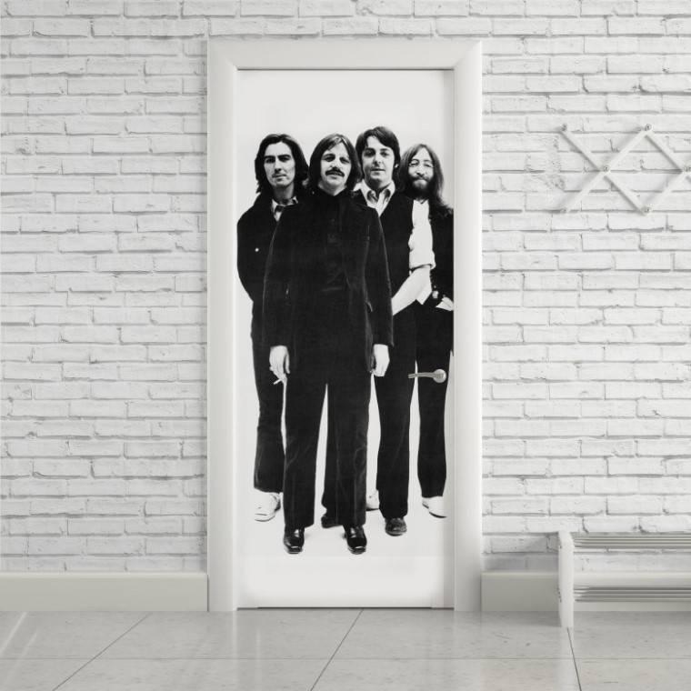 Adesivo Para Porta Beatles imagem 1